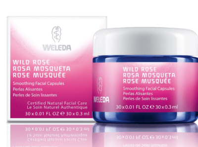 Take care of your aging skin: Weleda Wild Rose Smoothing Facial Capsules