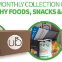 No More Junk Food: UrthBox Monthly Deliveries of Healthy Snacks