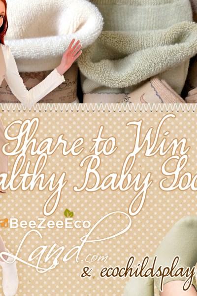 Want to win eco-friendly baby socks?