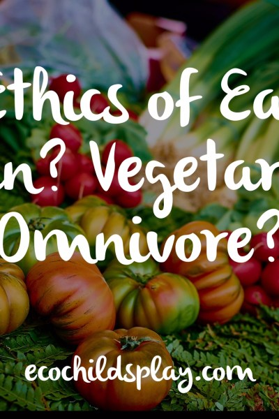 The Ethics of Eating:  Vegan?  Vegetarian?  Omnivore?