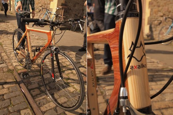 Axalko - the wooden bike