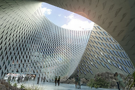 big architects library for kazakhstan 2