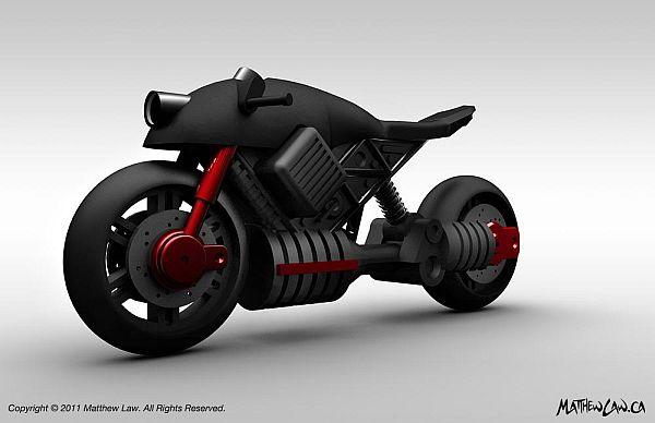 electric motorcycle concept 1