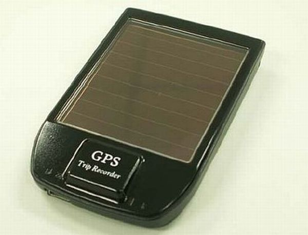 iBT GPS solar Bluetooth GPS data logger