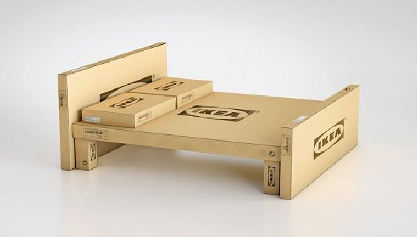 IKEA Furniture out of its own cardboard