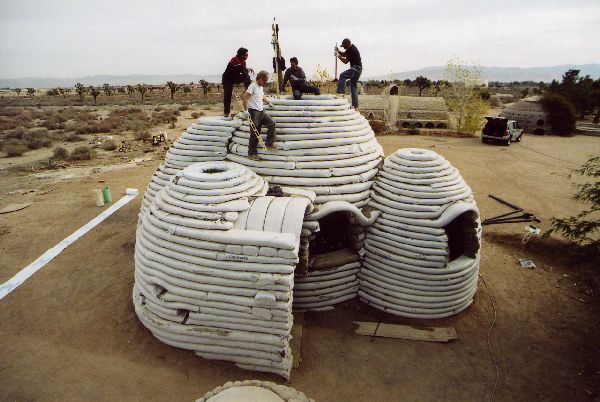 Iranian Architect Nader Khalili Built Earth Buildings Fit for Space