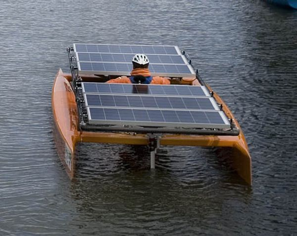largest solar powered boat in california