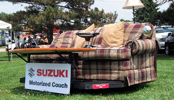Motorized Couch
