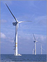 off shore wind turbine