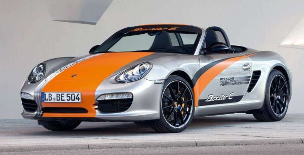 Porsche Electric Boxster Sports Car