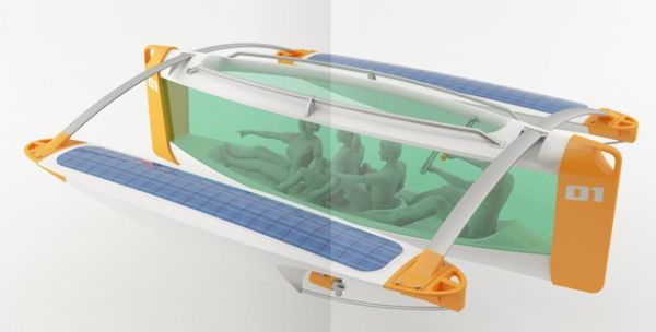 solar powered underwater boat 4