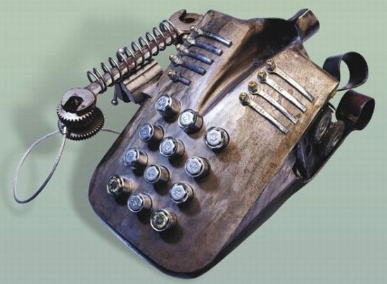 steampunk phone 1