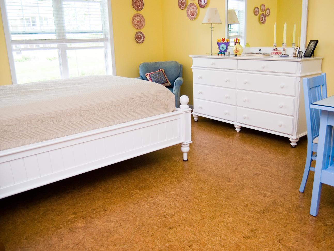 Cork Floors Gallery EcoFriendly Flooring - Cork flooring bedroom