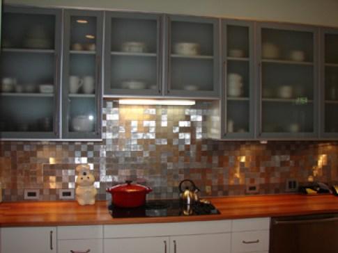recycled metal tile gallery eco friendly flooring