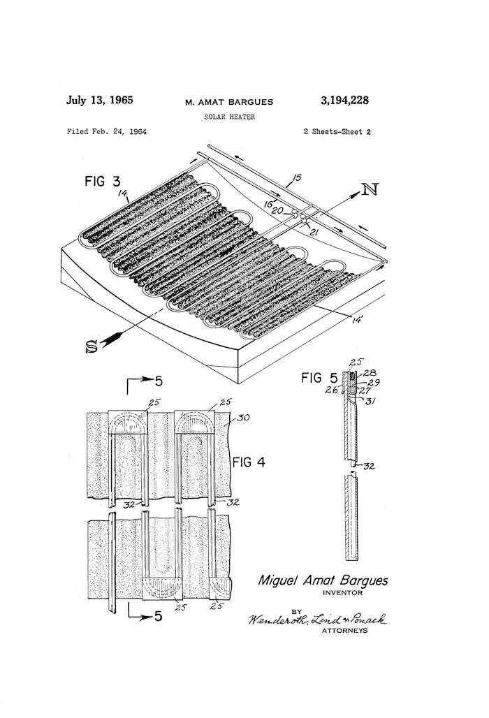 Uno de los primeros calentadores solares de la historia-1 copia