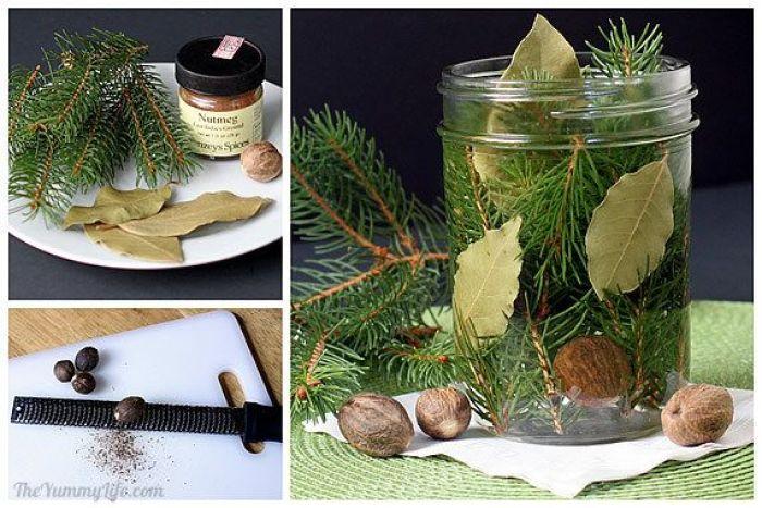 Aromatizante casero receta pino