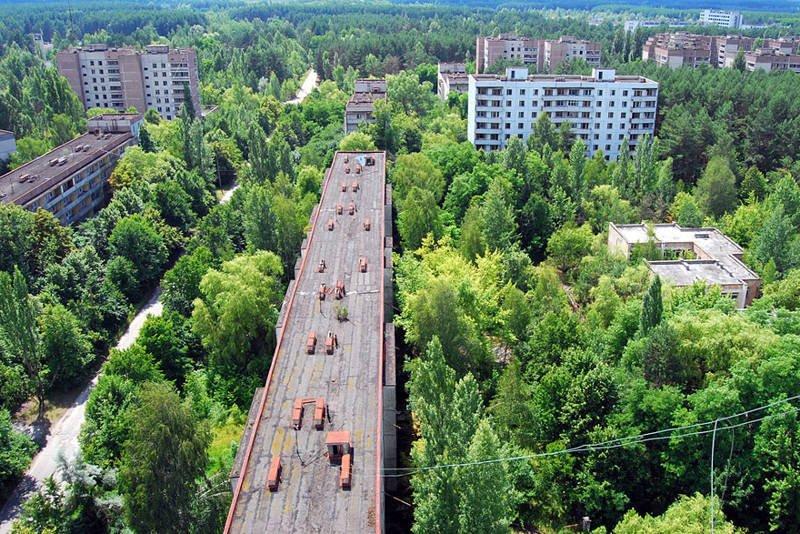 La ciudad fantasma radiactiva de Pripyat
