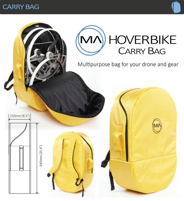 mochila hoverbike