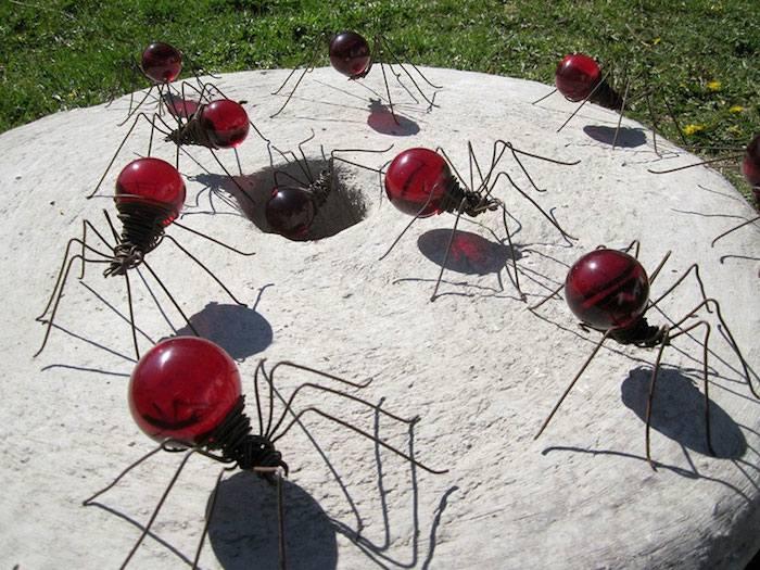 Arañas rojas