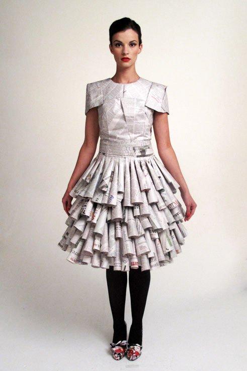 Hacer Trajes Con Material Reciclado | newhairstylesformen2014.com