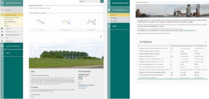 Climate Adaptation app