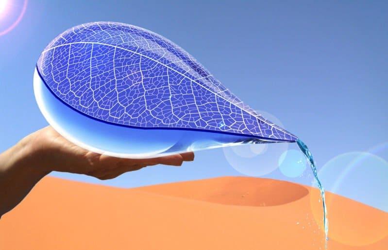 WaterDrop o como producir agua potable con energía solar en el desierto