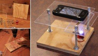 Como hacer un microscopio digital casero con un smartphone