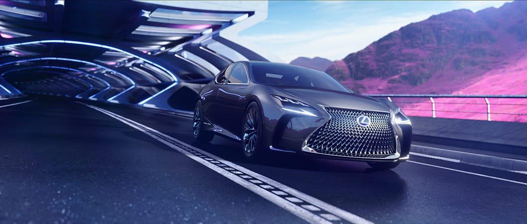 LF-FC Concept, el Lexus con pila de combustible de hidrógeno