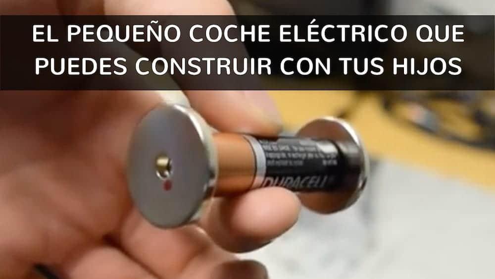 El pequeño coche eléctrico que puedes construir con tus hijos