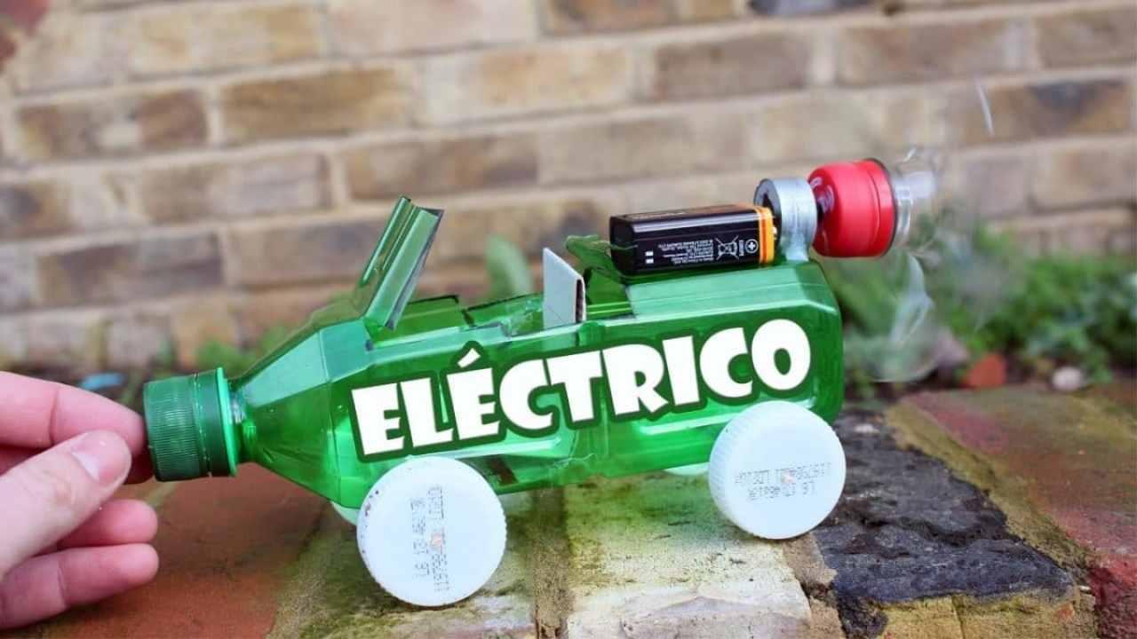 Cómo hacer un coche eléctrico casero de juguete