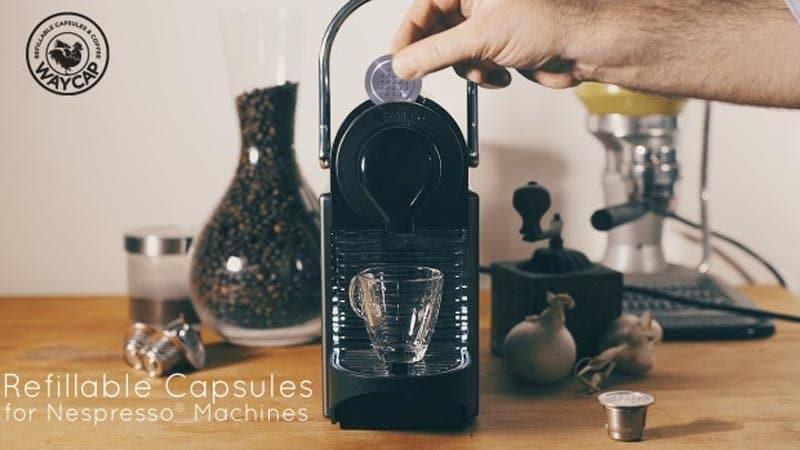Cápsulas de café de acero recargables