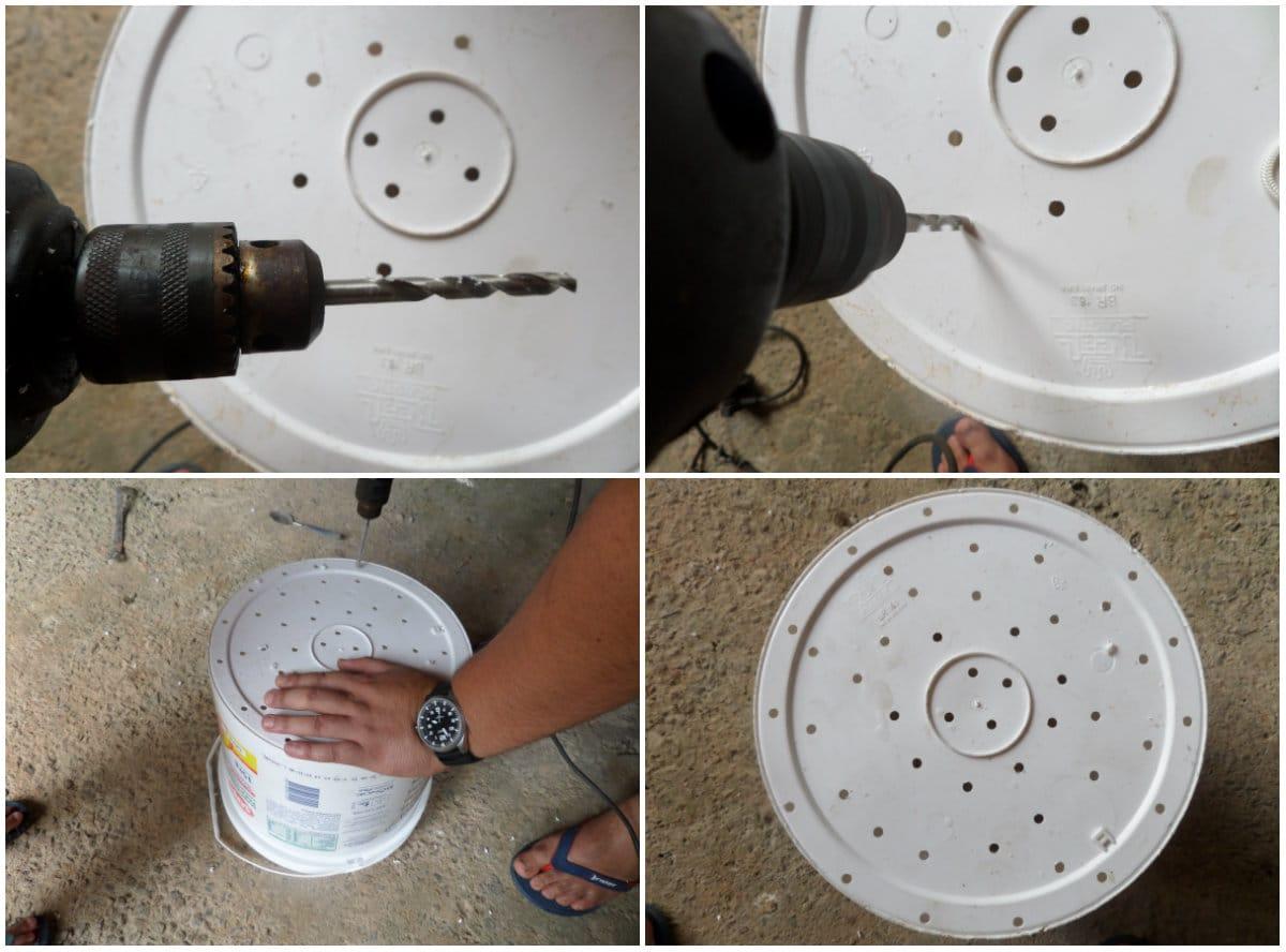 compostadora casera reutilizando bidones de plástico2