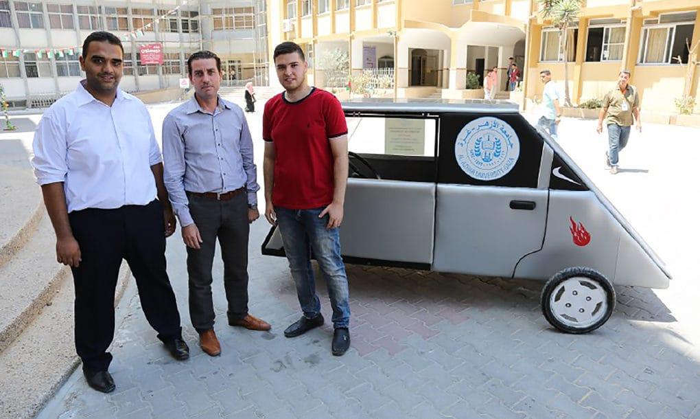 Coche solar Gaza