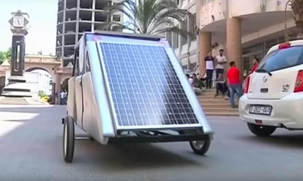 Coche solar Gaza1