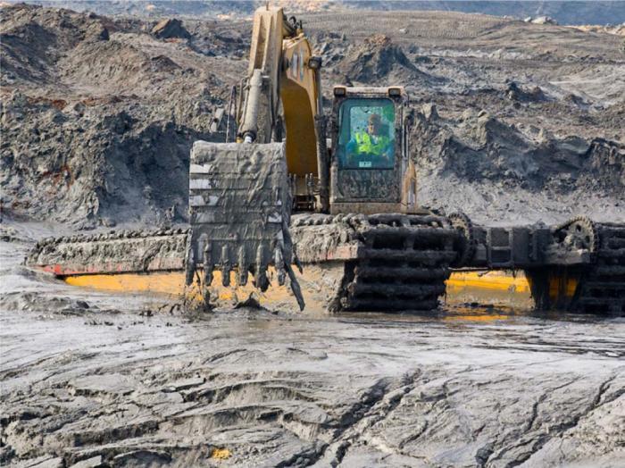 Coal Ash Dump Site