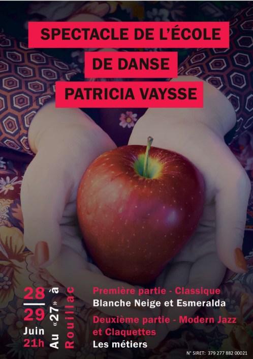 Affiche finale spectacle 2019 avec Siret.pub