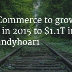 US B2B E-Commerce Revenue Growth from $780B in 2015 to $1.1 Trillion in 2020