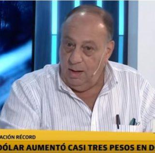 Roberto Cachanosky en Terapia de Noticias comentando qué pasa con el dólar