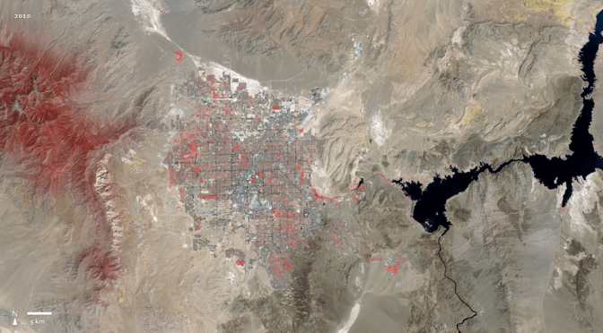 Satellite animation of Las Vegas sprawl