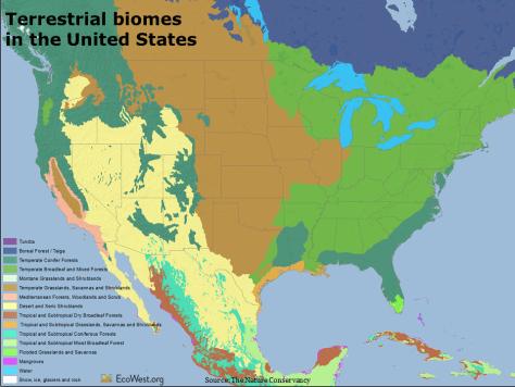 United States biomes