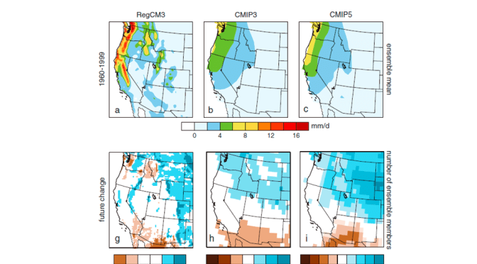 Climate change and trends in the American West's snowpack