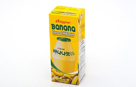 korean food - banana milk