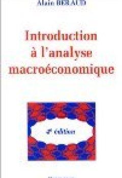 Livres Couvertures de Introduction à l'analyse macroéconomique