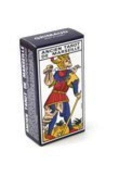 Livres Couvertures de France cartes - 394403 - Jeu de Cartes - Cartomancie - Tarot de Marseille en étui carton