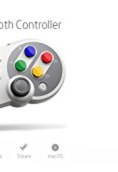 Livres Couvertures de 8Bitdo SFC30 Pro Manette Bluetooth