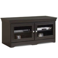 Image of Techcraft ABS48 48-Inch Wide Veneto Series TV Stand (Black) (ABS48)