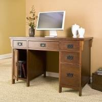 Picture of Comfortable Mission Computer Desk (B001HJC1VO) (Computer Desks)