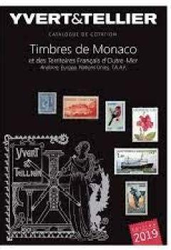 Livres Couvertures de Catalogue de timbres-poste : Tome 1 bis, Timbres de Monaco et des territoires francais d'Outre-Mer, Andorre, Europa, Nations Unies
