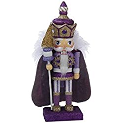 Kurt S Adler, HA0245B, Purple Royal Nutcracker