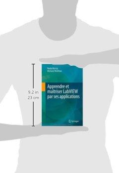 Livres Couvertures de Apprendre Et Maîtriser Labview Par Ses Applications